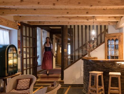 Living room Val de Ruda Hotel Chalet